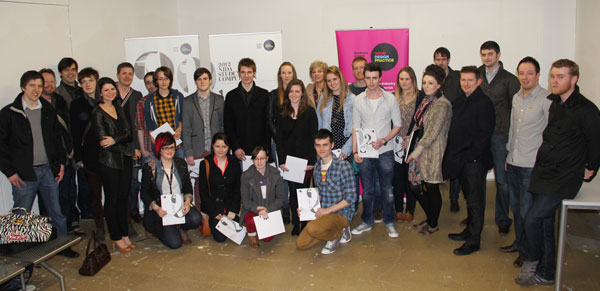 All attendees at the Prize Giving