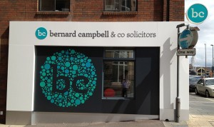 Bernard Campbell & Co Outside Signage