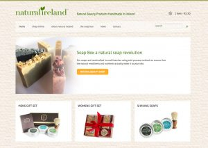 Natural Ireland Ecommerce Website
