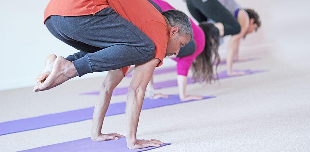 Namaste Yoga Belfast offer classes that range from absolute beginner to advanced level.